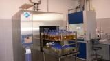 Steam sterilization of solutions