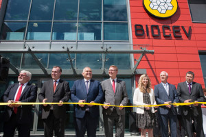 Opening ceremony of project BIOCEV