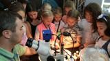 Mikroskopie hrou - praktická ukázka