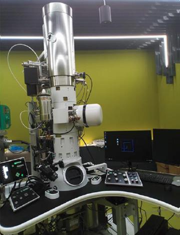 Elektronový mikroskop JEM 1400 FLASH